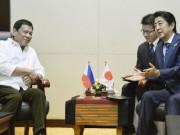 """Nhật """"trải thảm đỏ"""" mời Tổng thống Philippines đến thăm"""