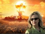 """Bà Clinton """"lỡ"""" tiết lộ bí mật tên lửa hạt nhân Mỹ"""