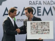 Tin thể thao HOT 21/10: Nadal tặng quà Federer