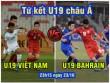 Tứ kết U19 châu Á: U19 Việt Nam gặp U19 Bahrain bí ẩn