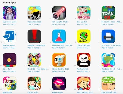 """Top 10 game, ứng dụng trong cuộc thi lập trình """"khủng"""" nhất VN - 3"""
