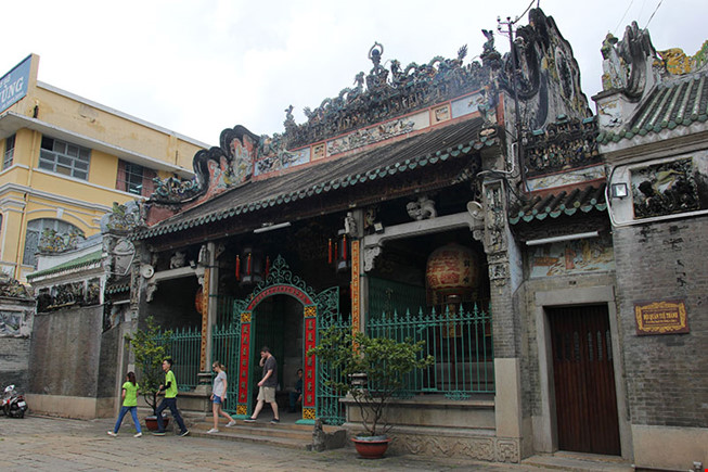 Chùa cổ gần 300 năm tuổi của người Hoa ở chợ Lớn - 2