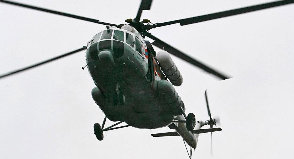 Trực thăng MI-8 của Nga rơi, 21 người thiệt mạng - 1