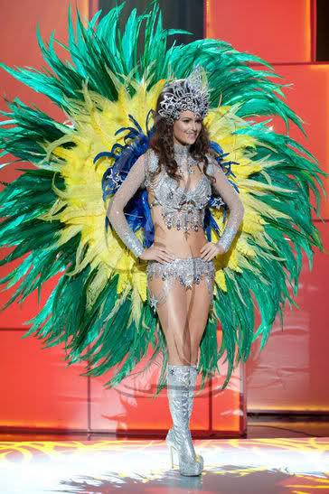 Trang phục dân tộc sexy tới ngạt thở ở cuộc thi hoa hậu - 7