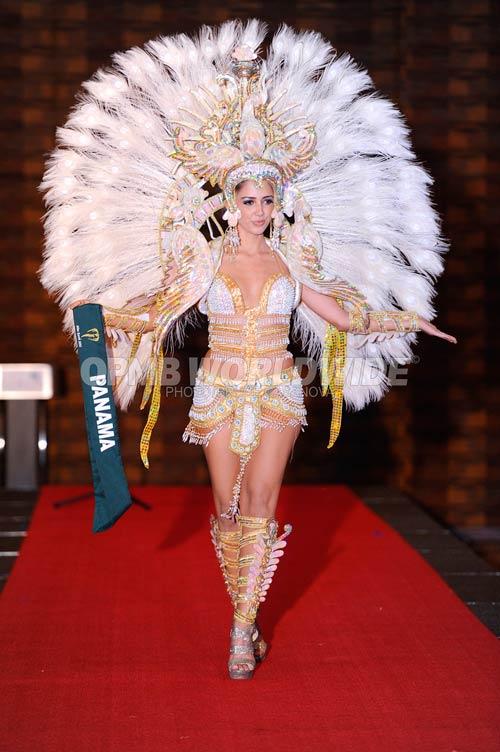 Trang phục dân tộc sexy tới ngạt thở ở cuộc thi hoa hậu - 12