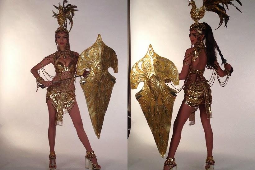 Trang phục dân tộc sexy tới ngạt thở ở cuộc thi hoa hậu - 13