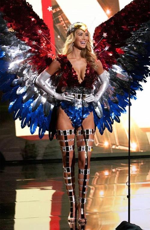 Trang phục dân tộc sexy tới ngạt thở ở cuộc thi hoa hậu - 17