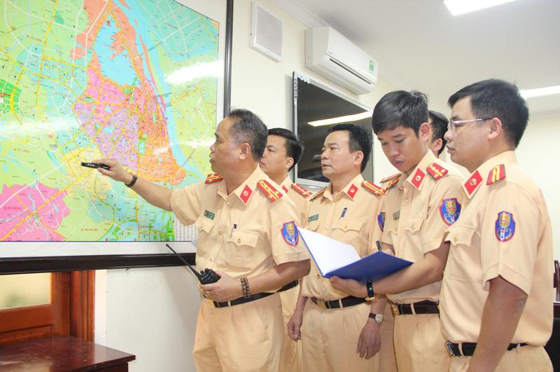 HN phân luồng giao thông phục vụ Hội nghị cấp cao ACMECS - 2