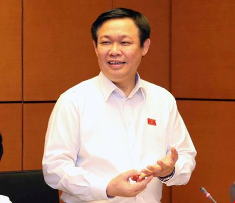 PTT Vương Đình Huệ: Dứt khoát không nới trần nợ công - 1