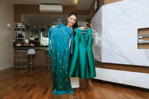 Loạt hàng hiệu toàn màu xanh lá của vợ NSƯT Việt Hoàn - 2