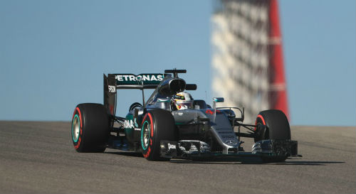 F1 - Đua thử US GP: Tâm điểm Rosberg, Hamilton - 1