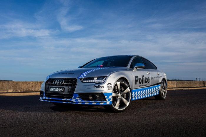Audi S7 Sportback gia nhập Lực lượng Cảnh sát - 3