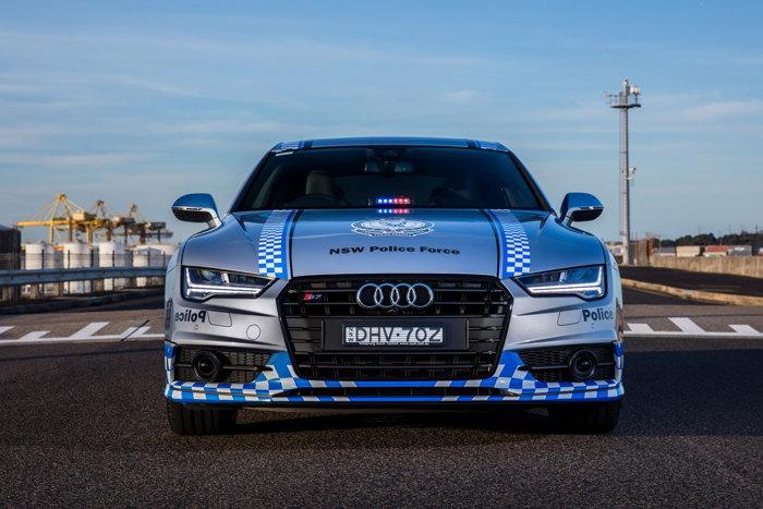 Audi S7 Sportback gia nhập Lực lượng Cảnh sát - 5