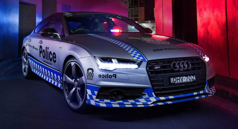 Audi S7 Sportback gia nhập Lực lượng Cảnh sát - 1