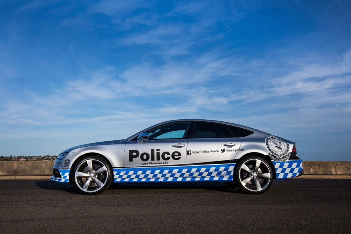 Audi S7 Sportback gia nhập Lực lượng Cảnh sát - 2