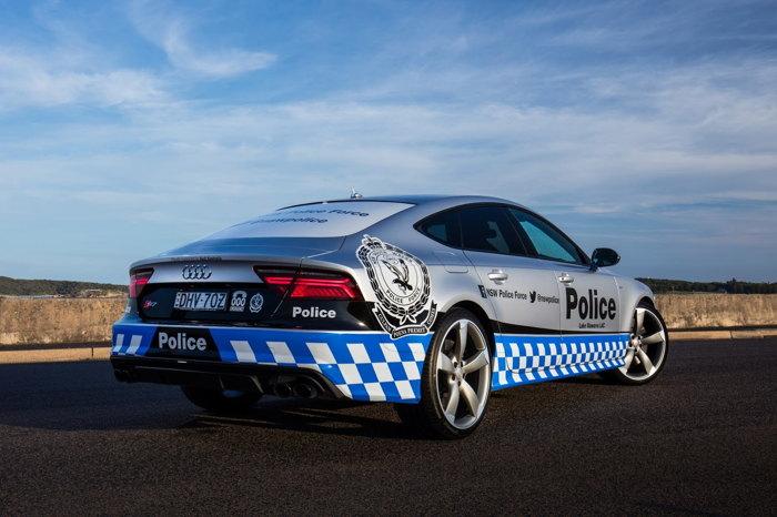 Audi S7 Sportback gia nhập Lực lượng Cảnh sát - 4