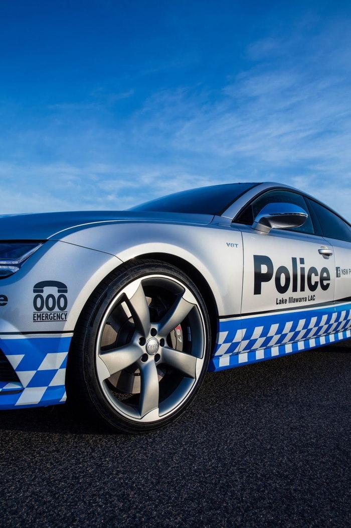 Audi S7 Sportback gia nhập Lực lượng Cảnh sát - 7