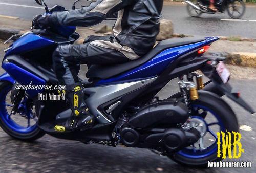 Lộ ảnh Yamaha NVX 150 không ngụy trang chạy thử - 1