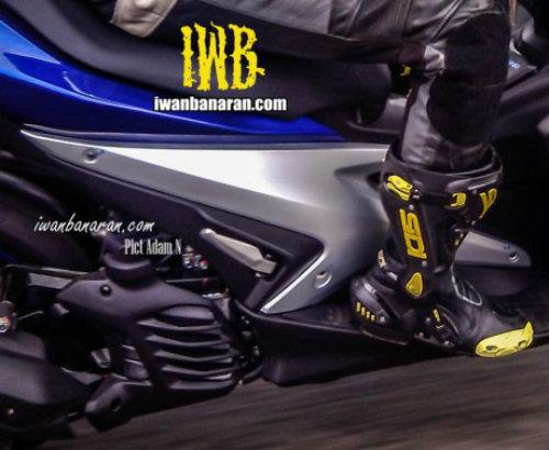 Lộ ảnh Yamaha NVX 150 không ngụy trang chạy thử - 2