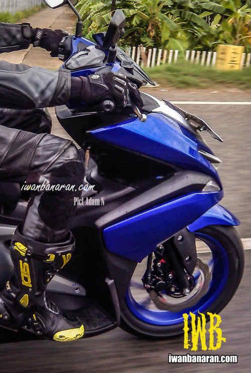 Lộ ảnh Yamaha NVX 150 không ngụy trang chạy thử - 4