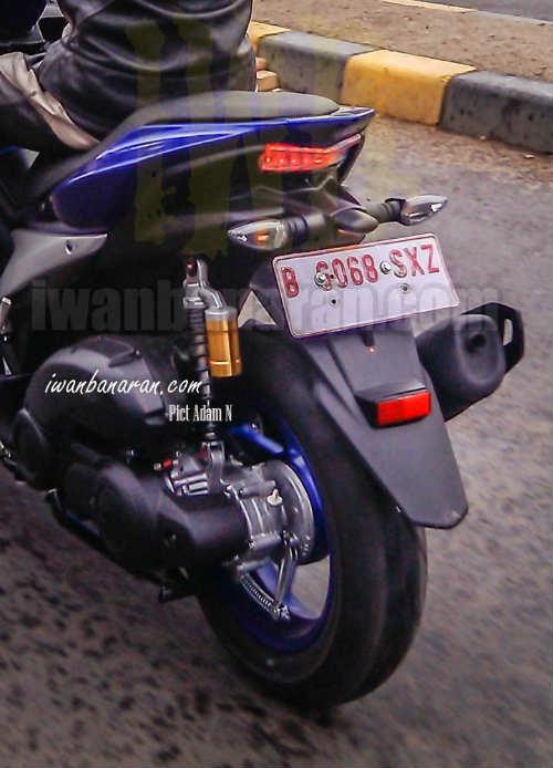 Lộ ảnh Yamaha NVX 150 không ngụy trang chạy thử - 3