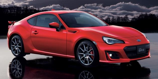 Soi chiếc coupe Subaru BRZ GT dành cho thị trường Nhật Bản - 1