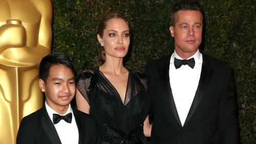 Sự thật vụ Brad  Pitt hành hung con trai trên máy bay - 1