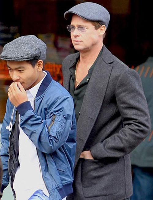 Sự thật vụ Brad  Pitt hành hung con trai trên máy bay - 2