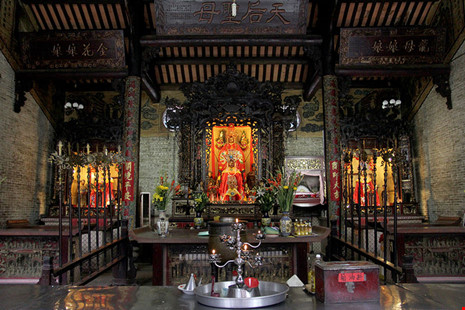 Chùa cổ gần 300 năm tuổi của người Hoa ở chợ Lớn - 14