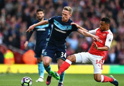 Chi tiết Arsenal - Middlesbrough: Áp lực đè nặng (KT) - 3