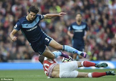 Chi tiết Arsenal - Middlesbrough: Áp lực đè nặng (KT) - 4