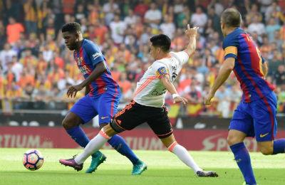 Chi tiết Valencia - Barcelona: Bàn thắng muộn màng (KT) - 5