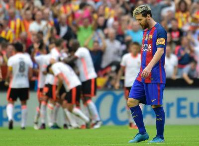 Chi tiết Valencia - Barcelona: Bàn thắng muộn màng (KT) - 6