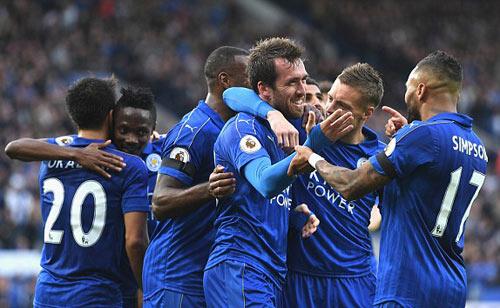 """Leicester City - C.Palace: 3 cú """"nã đạn"""" hoàn hảo - 1"""