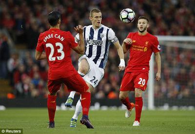 Chi tiết Liverpool - West Brom: Thổi bùng cơ hội (KT) - 3