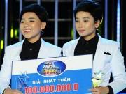 """""""Bản sao Quang Linh"""" giành giải 100 triệu đồng"""