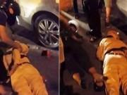 Tin tức trong ngày - Truy đuổi xe vi phạm, 2 cảnh sát ngã bất tỉnh