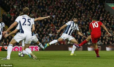 Chi tiết Liverpool - West Brom: Thổi bùng cơ hội (KT) - 4