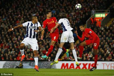 Chi tiết Liverpool - West Brom: Thổi bùng cơ hội (KT) - 5