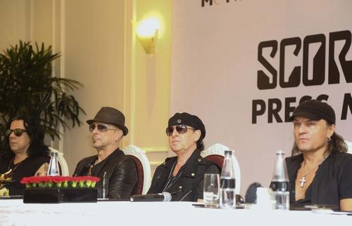 """Huyền thoại Scorpions: """"Được gặp fan Việt rất tuyệt vời"""" - 1"""