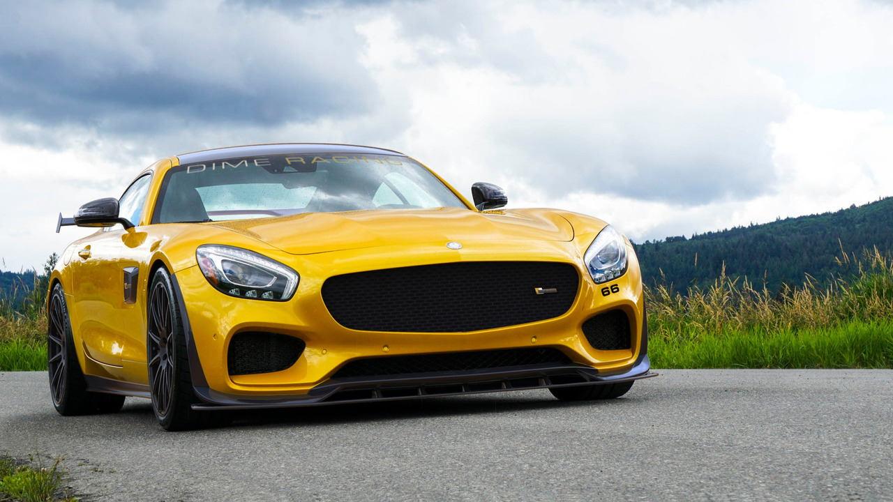 """Ngắm phiên bản Dime Racing Mercedes-AMG GT """"mạnh mẽ nhất"""" - 1"""