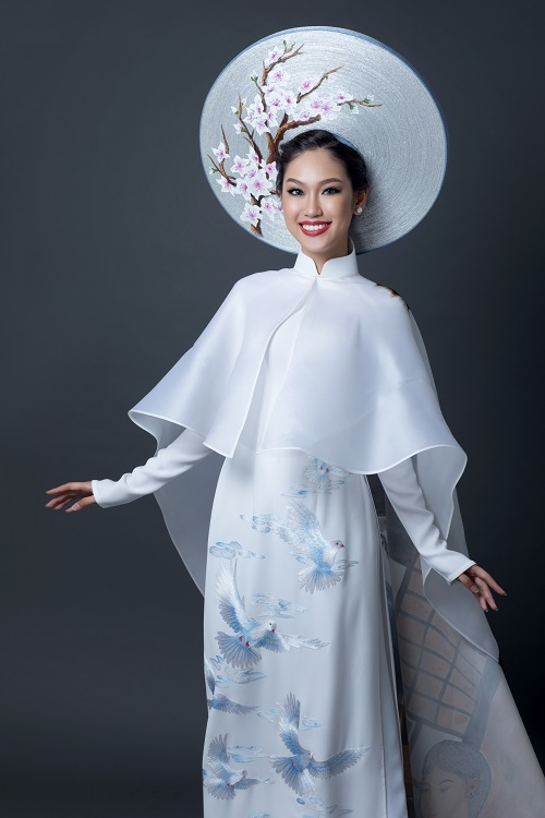 """Chi tiết """"độc lạ"""" trên quốc phục VN ở Hoa hậu quốc tế 2016 - 2"""