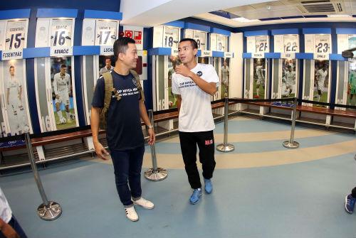 """Nhà vô địch FC Thành Đồng """"đột nhập"""" phòng thay đồ Real Madrid - 5"""