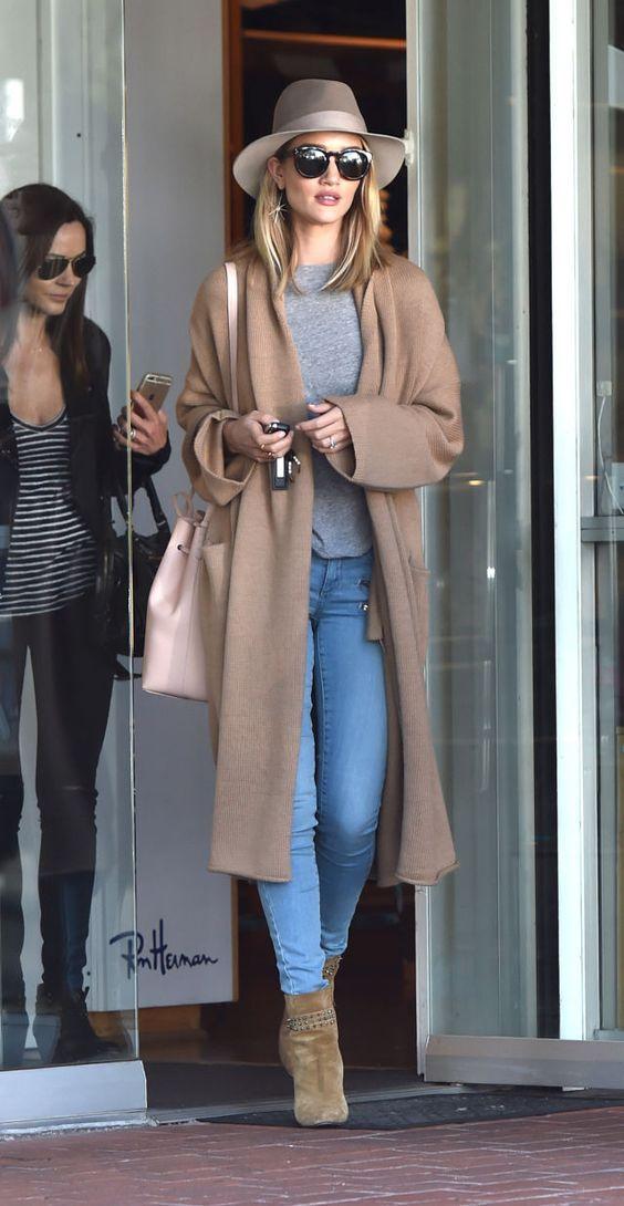 Khi giao mùa hãy mặc đồ như Kendall, Gigi hay Rihanna - 2
