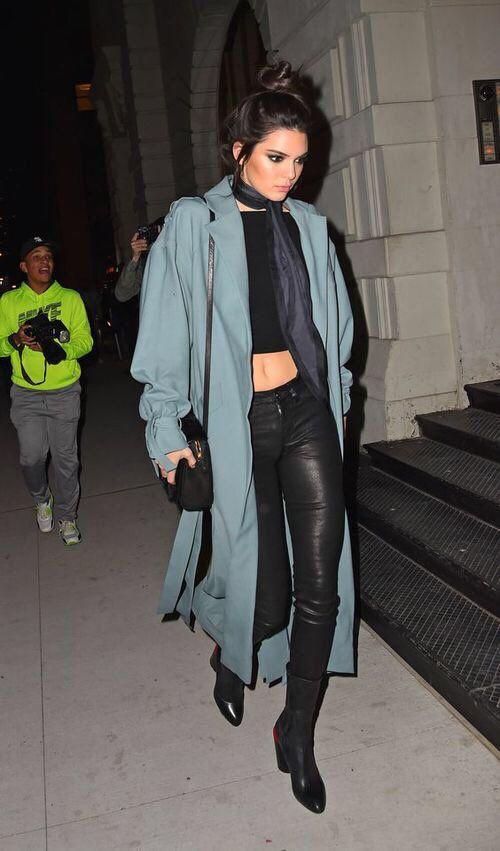 Khi giao mùa hãy mặc đồ như Kendall, Gigi hay Rihanna - 6