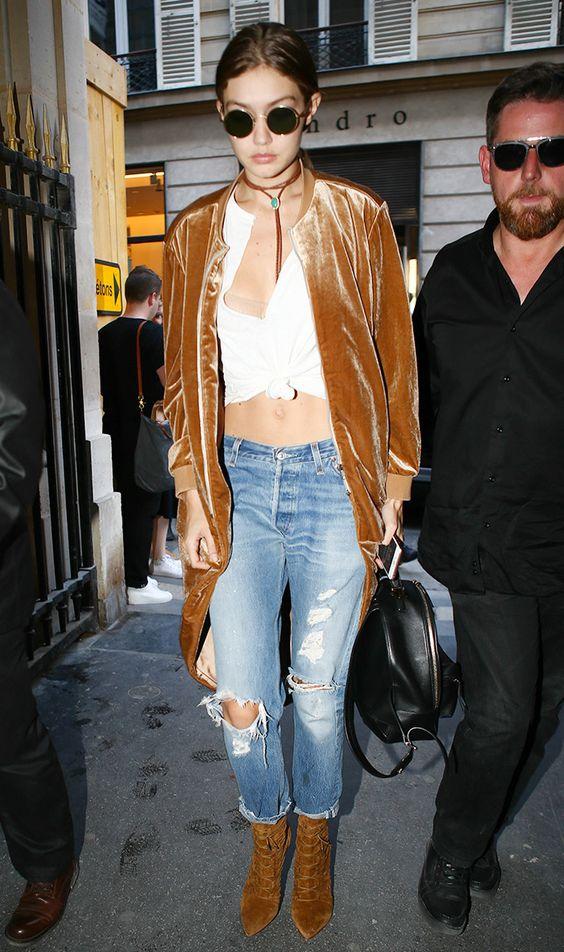 Khi giao mùa hãy mặc đồ như Kendall, Gigi hay Rihanna - 10