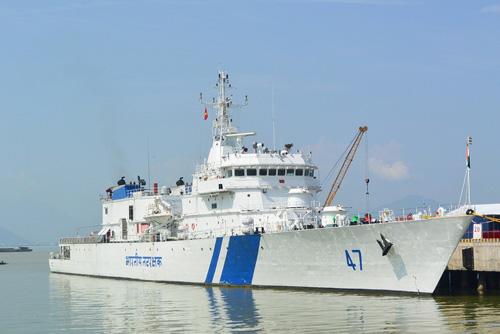 Tàu bảo vệ bờ biển Ấn Độ cập cảng Tiên Sa thăm Đà Nẵng - 1