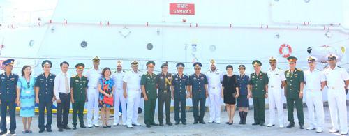 Tàu bảo vệ bờ biển Ấn Độ cập cảng Tiên Sa thăm Đà Nẵng - 3