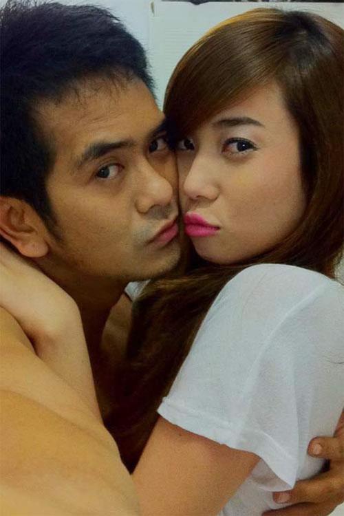 Nhan sắc vợ hot girl vừa tái hợp lại chia tay của Hùng Thuận - 1