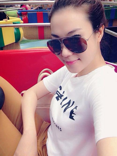 Nhan sắc vợ hot girl vừa tái hợp lại chia tay của Hùng Thuận - 5